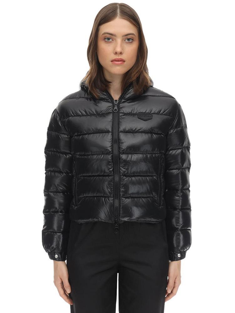 DUVETICA Matar Nylon Down Jacket in black