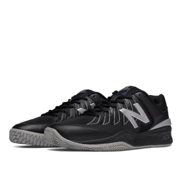 New Balance 1006 Men's Tennis Shoes - Black/Silver (MC1006BS)