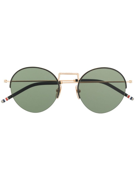 Thom Browne Eyewear round frame sunglasses in gold