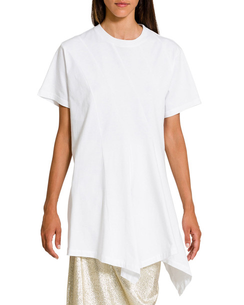 J.W. Anderson Panelled Handkerchief T-shirt in white