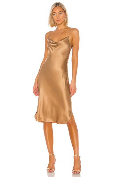 NILI LOTAN Junie Dress in brown