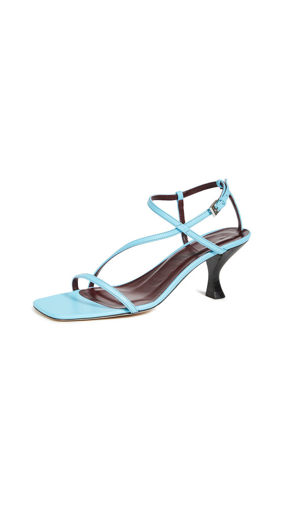 STAUD Gita Sandals in blue