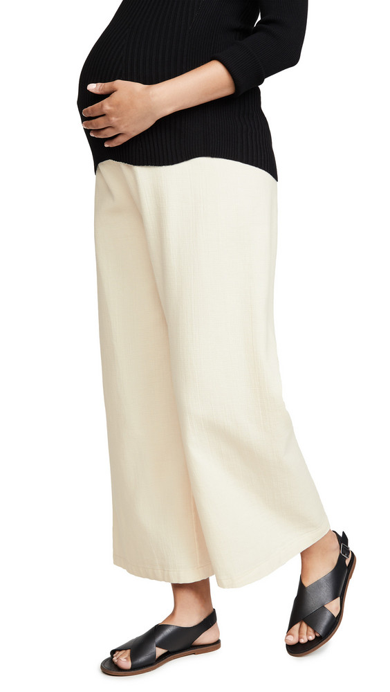 HATCH The Flora Pants in ivory