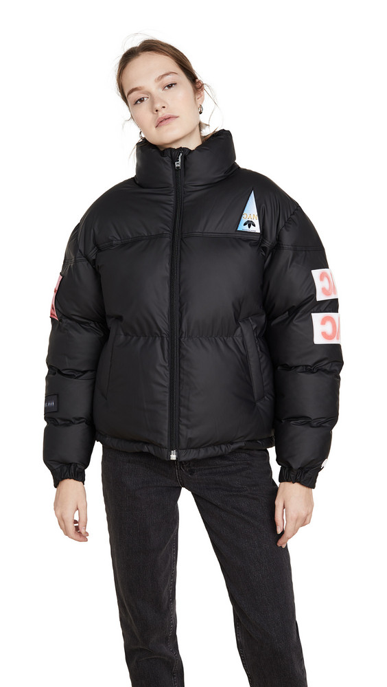 adidas Originals by Alexander Wang Flex2Club Puffer Jacket in black