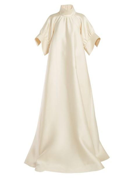 The Row - Alba Mikado Silk Gown - Womens - Ivory