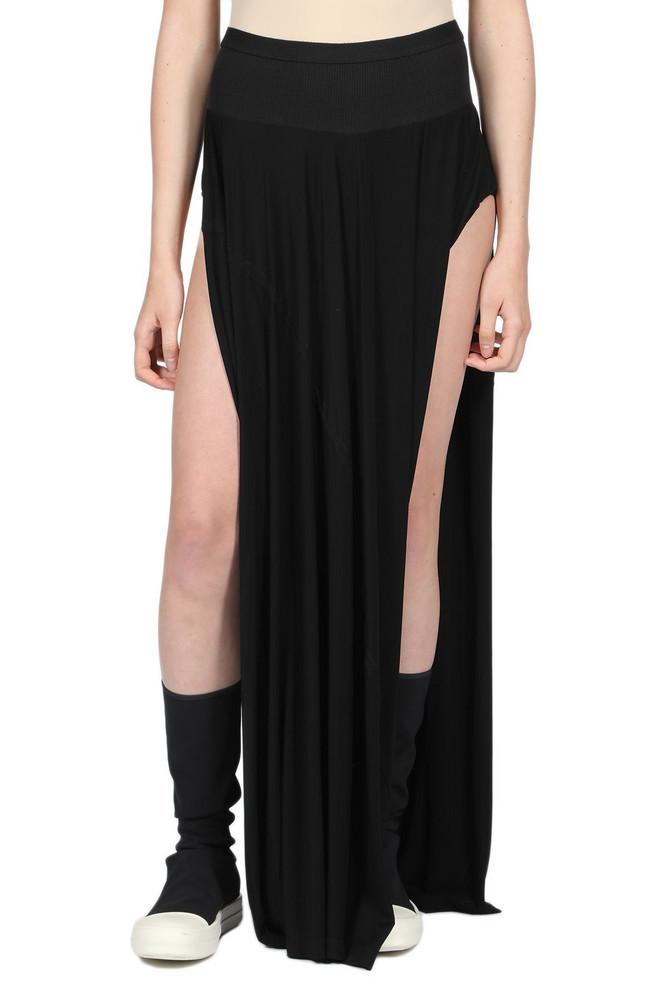 Rick Owens Lilies Skirt in nero
