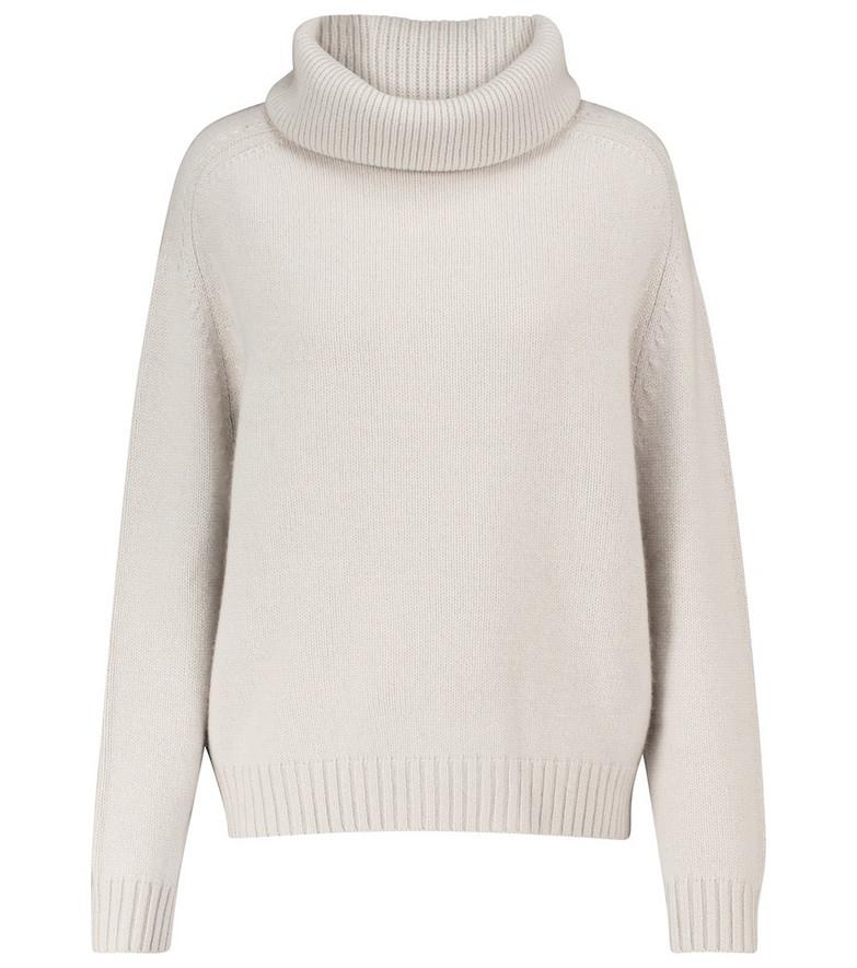 Jardin des Orangers Cashmere turtleneck sweater in grey