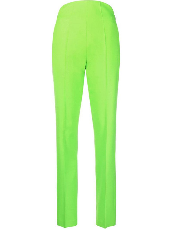 The Attico high-waisted trousers in green