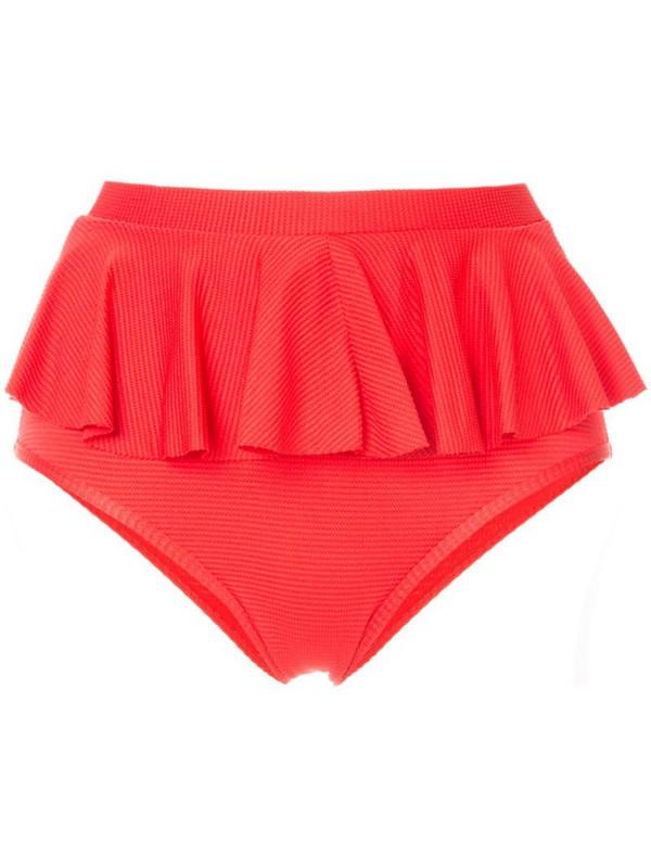 Duskii Cancun bikini bottoms in red