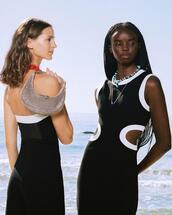 jumpsuit,dress,jewels