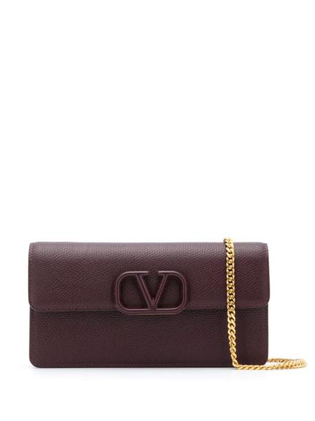 Valentino Garavani VSLING chain-strap shoulder bag in purple