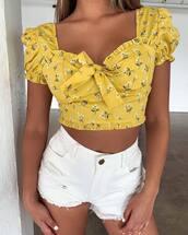 top,yellow top
