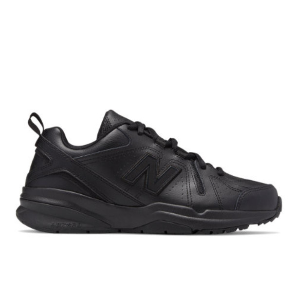 New Balance 608v5 Women's Everyday Trainers Shoes - Black (WX608AB5)