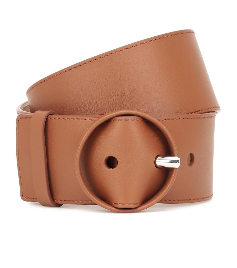 Loro Piana Leather belt in brown