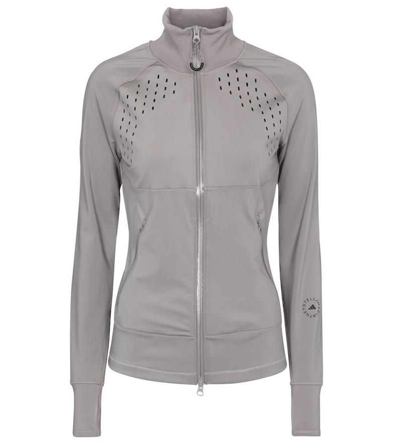 Adidas by Stella McCartney TruePurpose track jacket in grey
