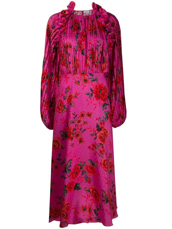 Magda Butrym floral print dress in pink
