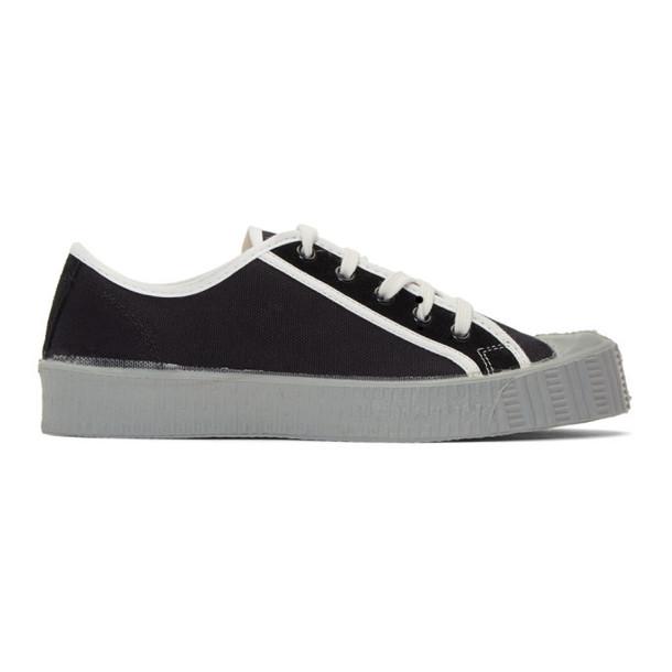 Spalwart Black Special Low CSGS Sneakers