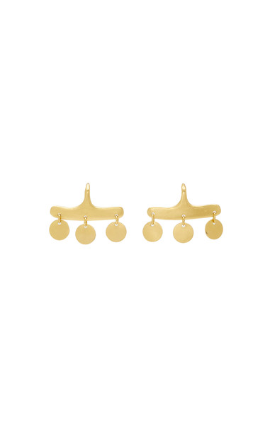 Prounis Syca Earrings in gold