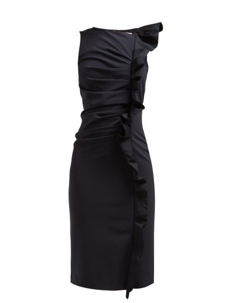 Max Mara - Cleo Dress - Womens - Navy