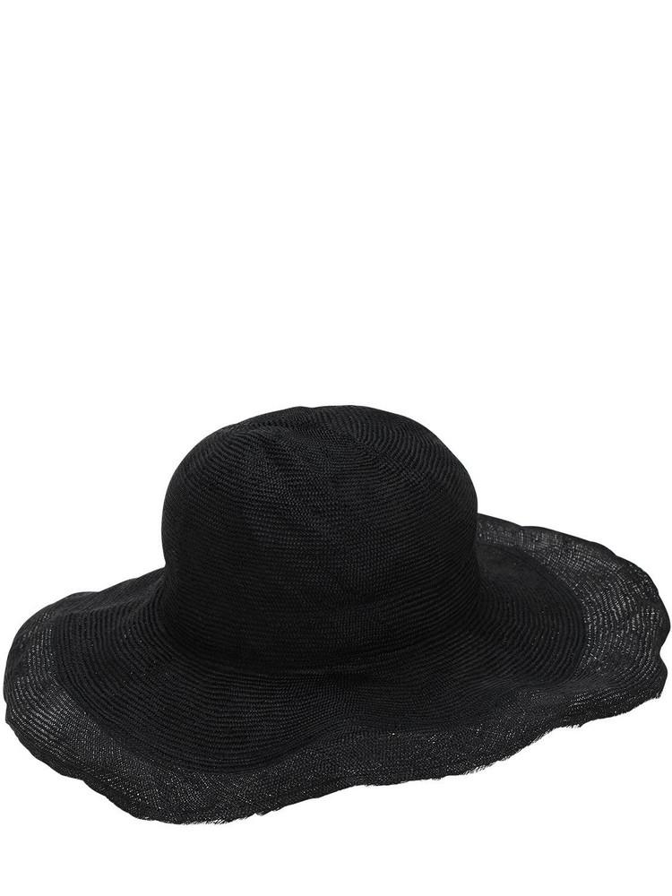 SCHA Parasisal Straw Hat in black