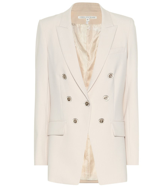 Veronica Beard Matteo Dickey blazer in white