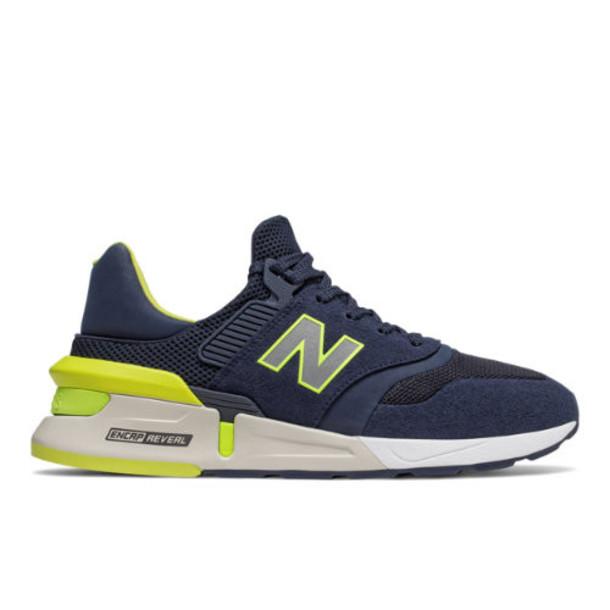 New Balance 997 Sport Men's Sport Style Shoes - Navy/Green (MS997RH)