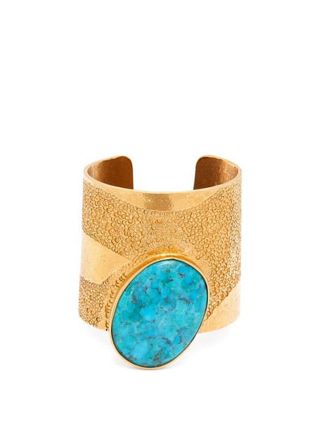 Karry Gallery - Turquoise Cuff - Womens - Blue