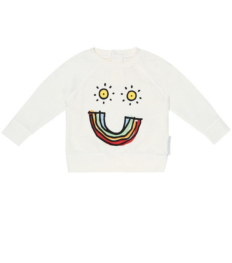 Stella McCartney Kids Baby cotton shirt in white
