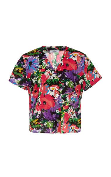 Art Dealer Olivia Shirt Size: XS in pink
