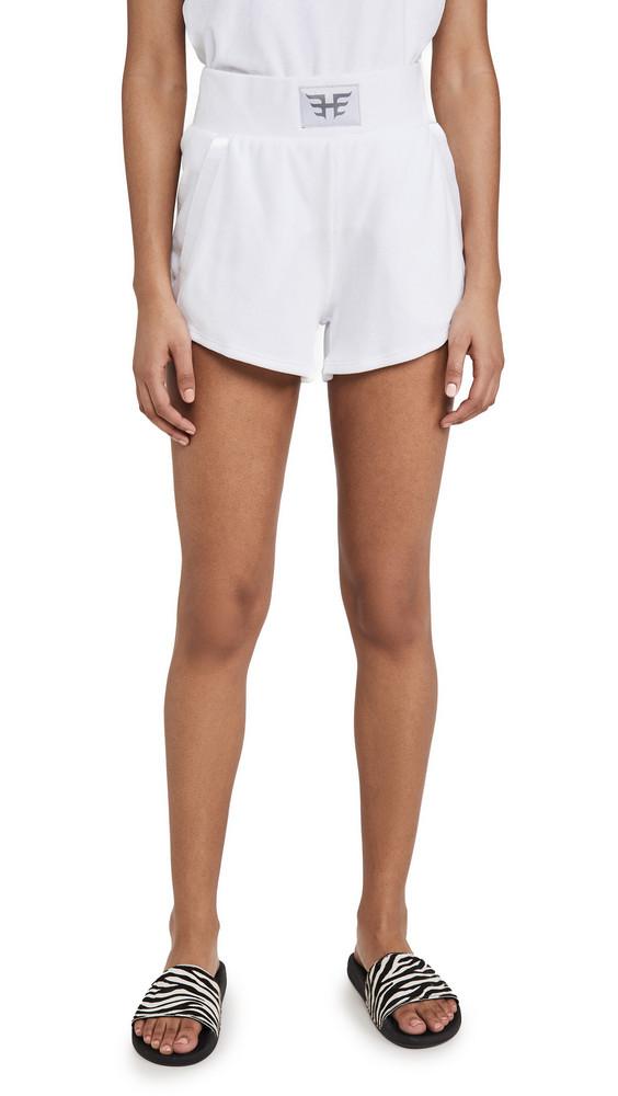 Heroine Sport Boost Shorts in white