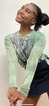 shirt,quenlin blackwell,green,long sleeves