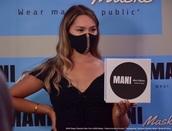 scarf,mask,mani masks,mani,face,masks,bianka da silva,mariam fernandez rodriguez,model,stage collection,mani stage collection