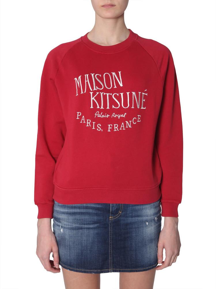 Maison Kitsuné Maison Kitsuné Palais Royal Embroidery Sweatshirt