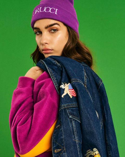 sweater jacket hat