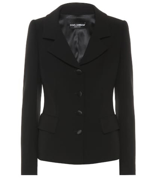 Dolce & Gabbana Wool blazer in black