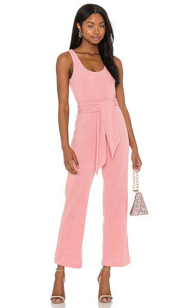 SAYLOR Molly Jumpsuit in Pink in rose