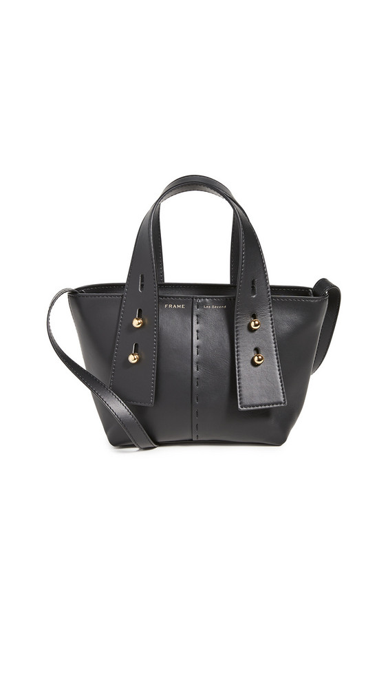 FRAME Les Second Mini Bag in noir