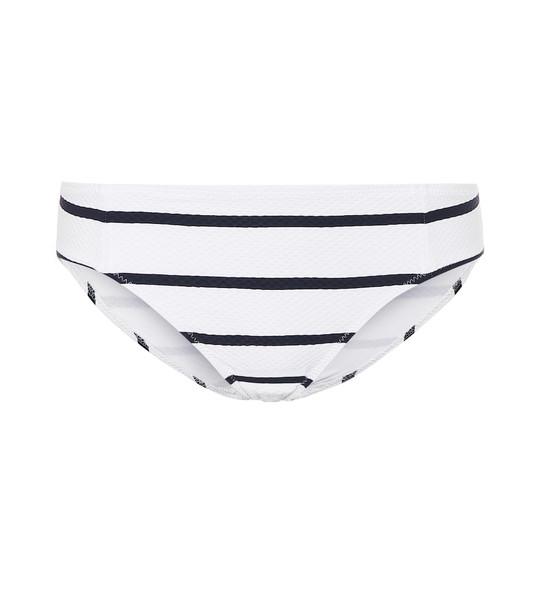 Heidi Klein Core Nautical bikini bottoms in white