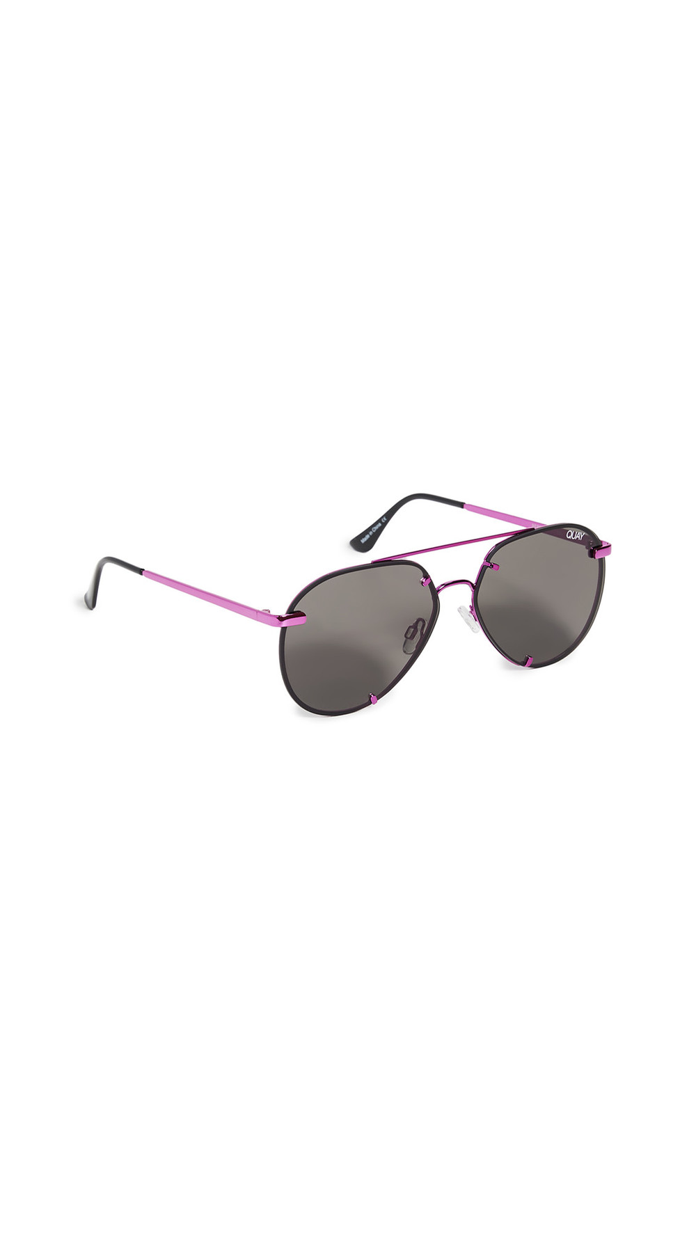 Quay Rebelle Sunglasses in pink