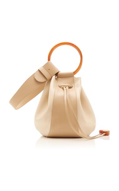 Ulla Johnson Piera Leather Bucket Bag in neutral