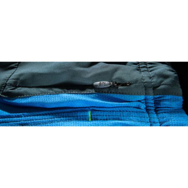 New Balance 4112 Men's Impact 3 Inch Split Short - Laser Blue, Petrol (MRS4112LSB)