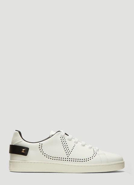 Valentino Backneck Sneaker in White size EU - 37