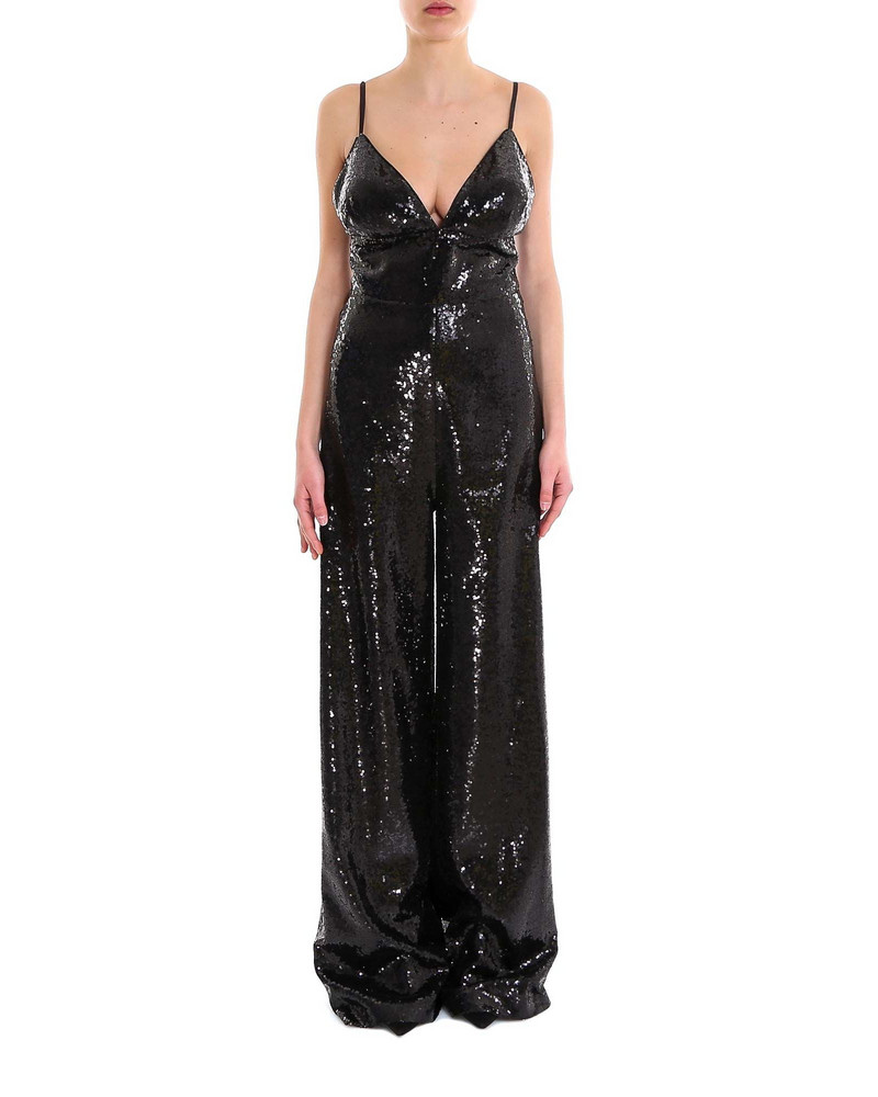In The Mood For Love Devon Jumpsuit in black