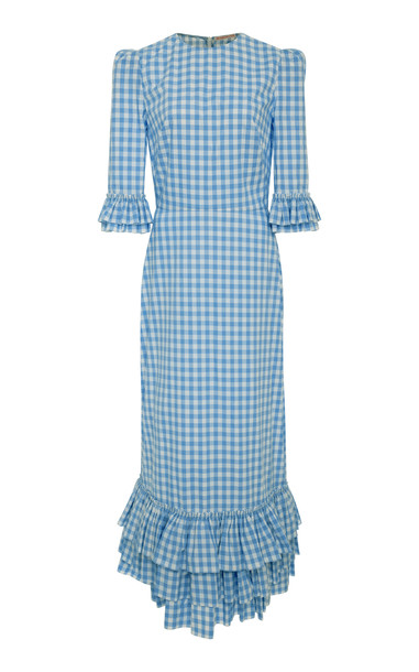 The Vampire's Wife Cotton Cinderella Dress in blue
