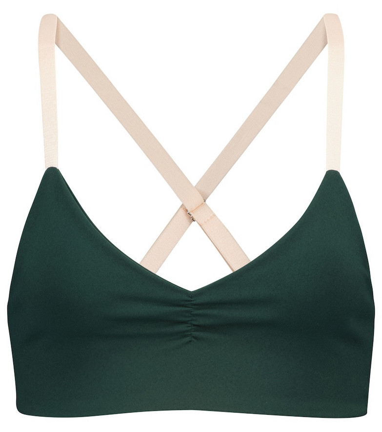 Live The Process Saturn sports bra in green