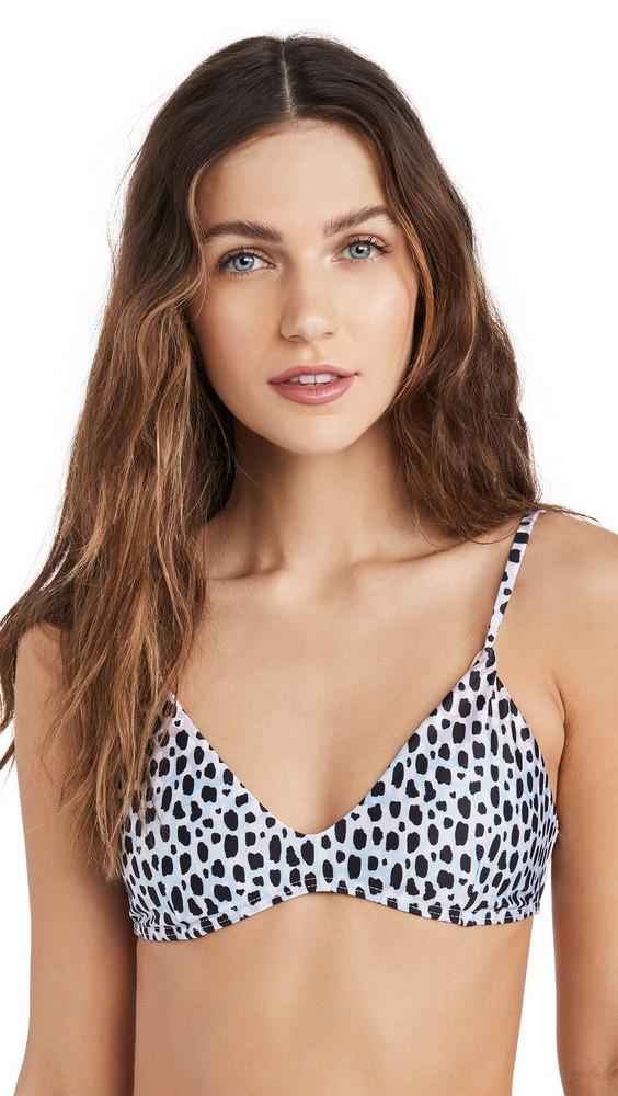 Suboo Amelie Scoop Bikini Top in leopard
