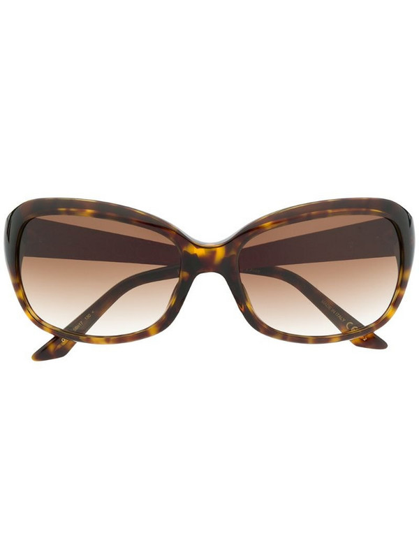 Dior Eyewear Coquette sunglasses in brown