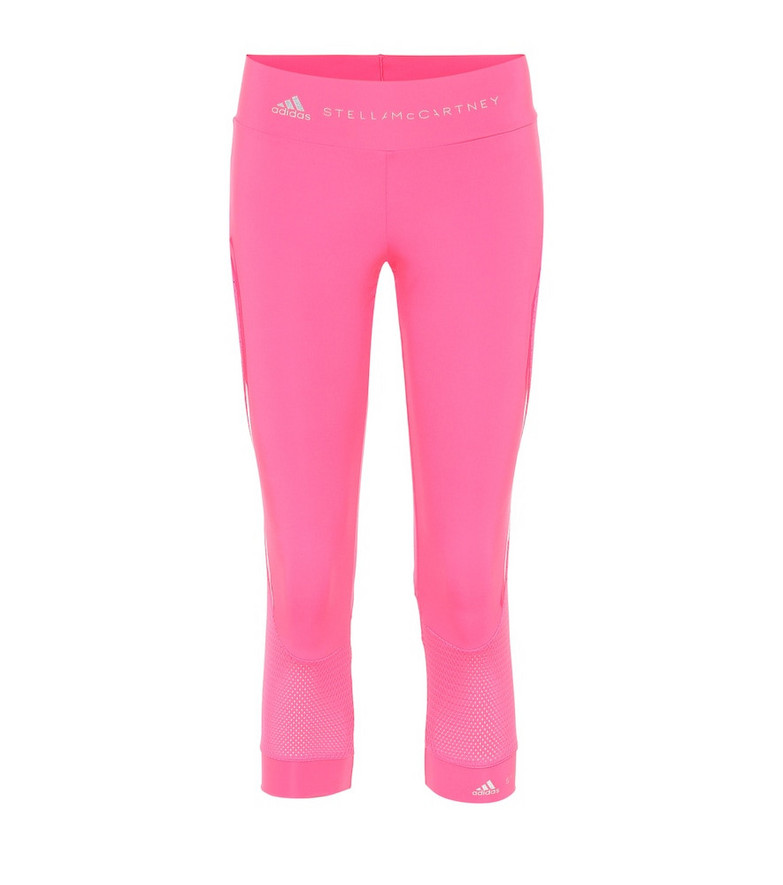 Adidas by Stella McCartney Performance Essentials cropped leggings in pink