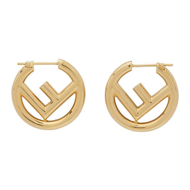 Fendi Gold F is Fendi Earrings