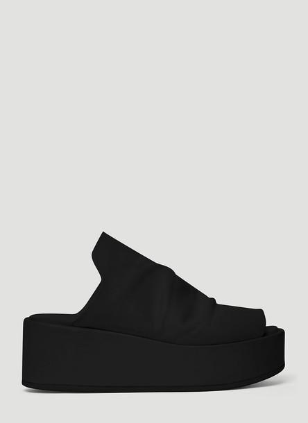 Marsèll Wedged Sandals in Black size EU - 38